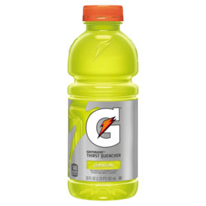 Gatorade - 20 oz Lemon-Lime Bottle 24pk Case