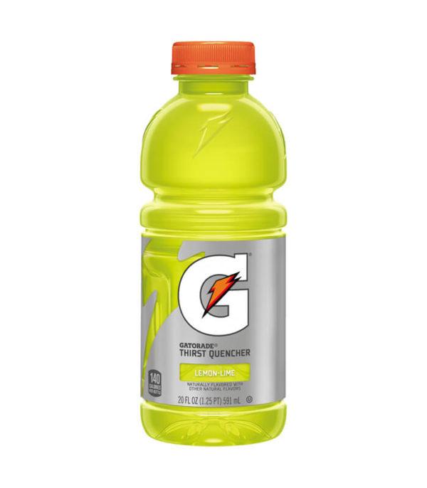 Gatorade - 20 oz Lemon-Lime Bottle 24pk Case