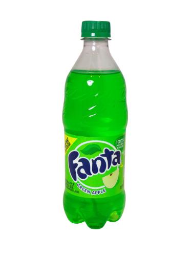 Fanta - Green Apple 20oz Bottle Case