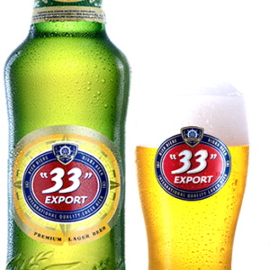 33 Export - Lager 12oz Bottle 24pk Case