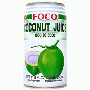 Foco - Coconut Water 11oz Can Case - 24 Pack