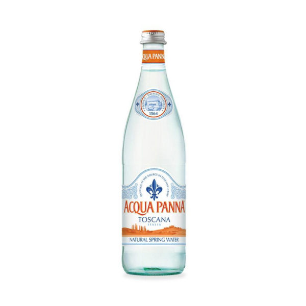 Acqua Panna - 750ml (25.3oz) Glass Bottle Case