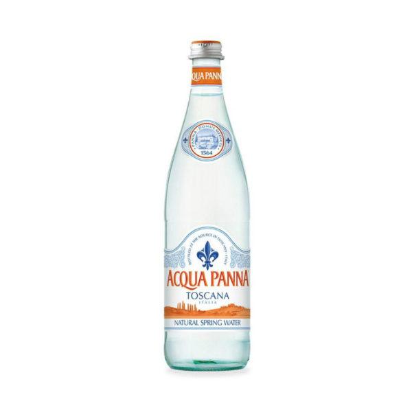 Acqua Panna - 750ml (25.3oz) Glass Bottle Case