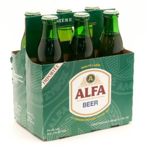 Alfa - Lager 11.2oz (330ml) Bottle 24pk Case