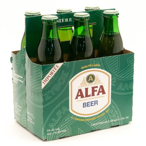 Alfa - Lager 11.2oz (330ml) Bottle 24pk Case