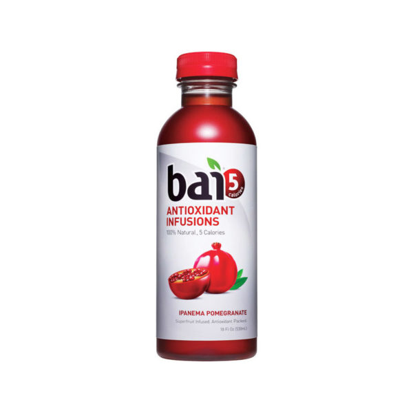 Bai 5 - Ipanema Pomegranate 18oz Bottle Case