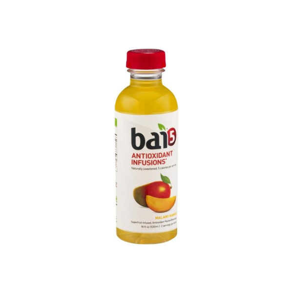 Bai 5 - Malawai Mango 18oz Bottle Case