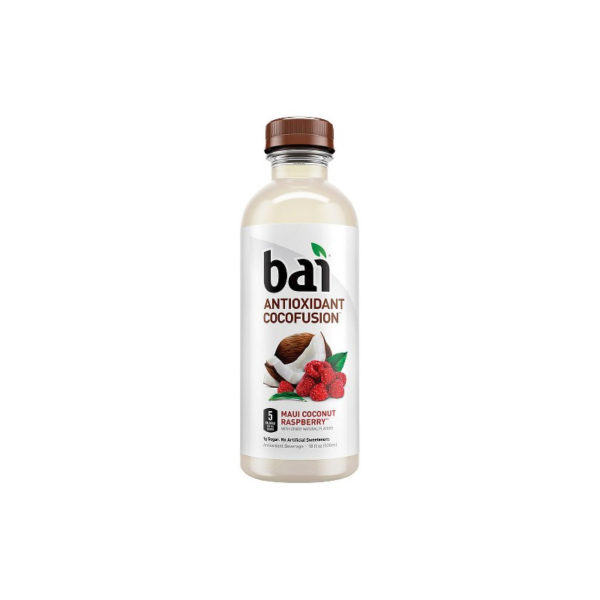 Bai 5 - Maui Coconut Raspberry 18oz Bottle Case