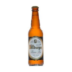 Bitburger - Pilsner 330ml (11.2oz) Bottle 24pk Case