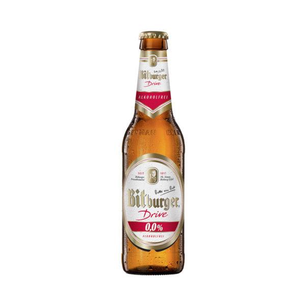 Bitburger - Non Alcoholic 330ml (11.2oz) Bottle Case