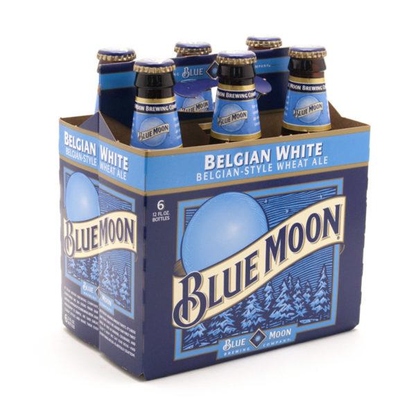 Blue Moon - Belgian White 12oz Bottle 24pk Case