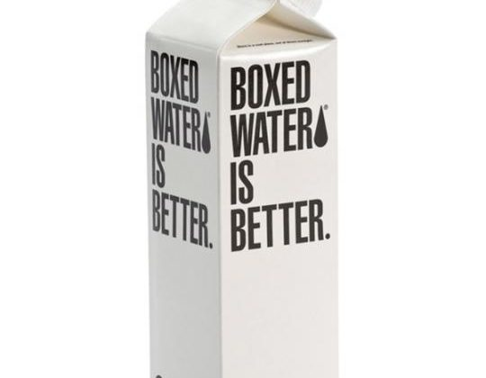 Boxed Water Is Better - 16oz Paper Box Case - 24 Pack