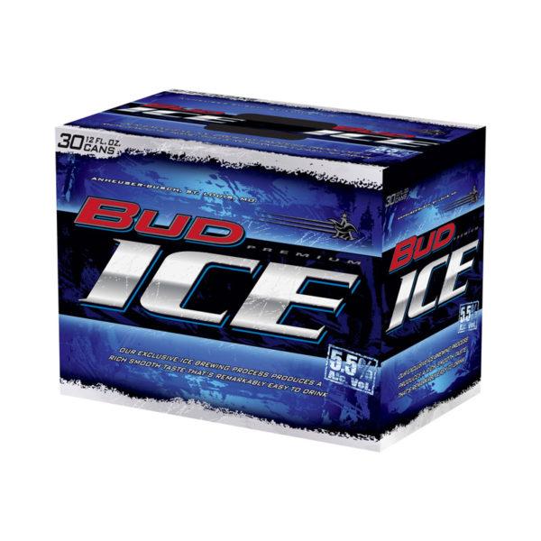 Budweiser - Bud Ice 12oz Can 24pk Case