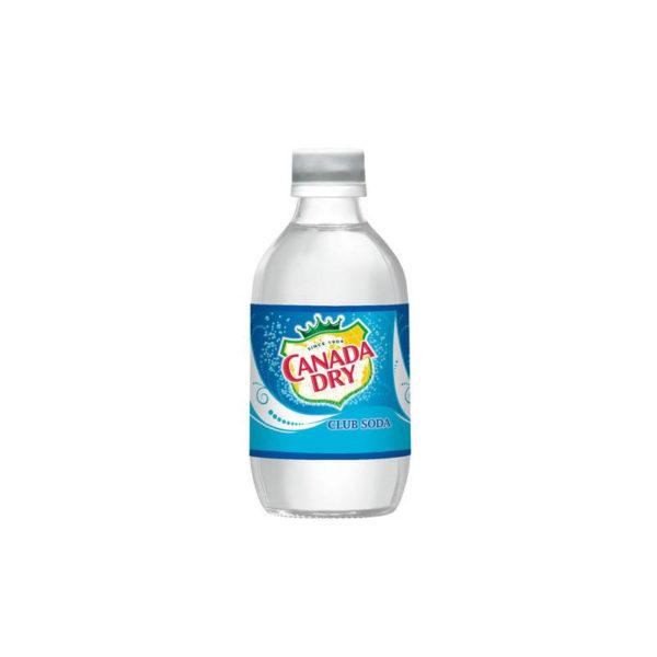 Canada Dry - Club Soda 12oz Bottle Case