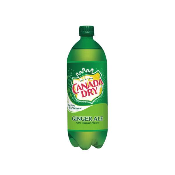 Canada Dry - Ginger Ale 2 Liter Bottle (6 Pack) Case