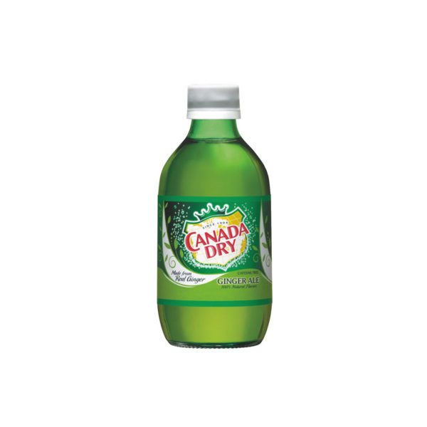 Canada Dry - Ginger Ale 10oz Glass Bottle Case