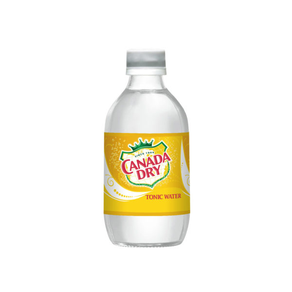 Canada Dry - Tonic 10oz Glass Bottle Case