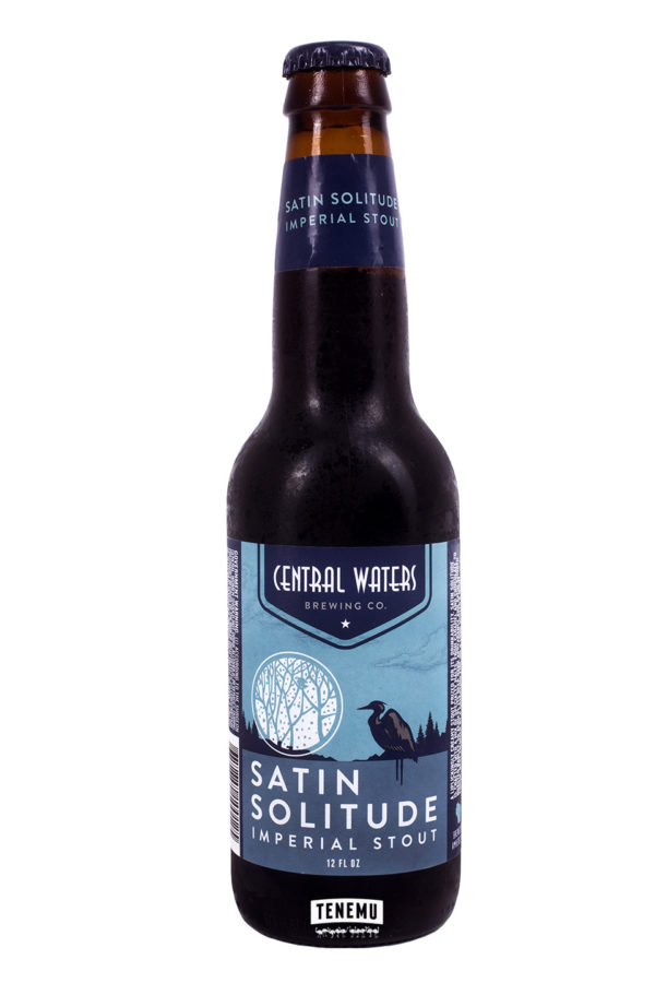 Central Waters - Satin Solitude Imperial Stout 12oz Bottle 24pk Case