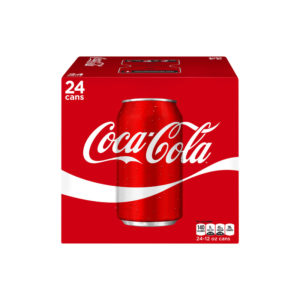 Coke - 12 oz Can 24pk Case