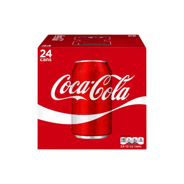 Coke - 12 oz Can 24pk Case