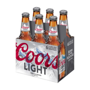 Coors - Light 12oz Bottle 24pk Case