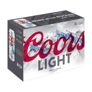 Coors - Light 12oz Can 24pk Case