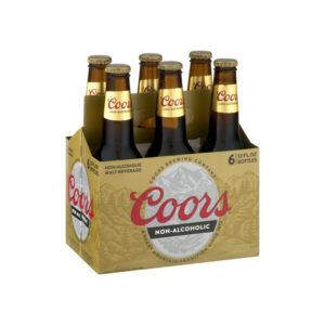 Coors - Non Alcoholic 12oz Bottle Case