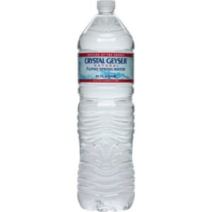 Crystal Geyser - 1.5 Liter (50.7oz) Bottle Case - 12 Pack