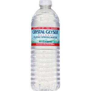 Crystal Geyser - 500ml (16.9oz) Bottle (35-Pack) Case - 35 Pack
