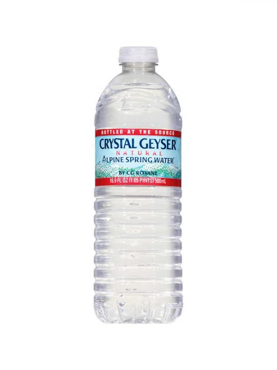 Crystal Geyser - 500ml (16.9oz) Bottle (35-Pack) Case - 35 Pack