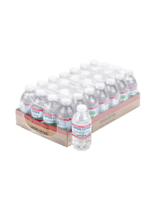 Crystal Geyser - 8oz Bottle Case - 28 Pack