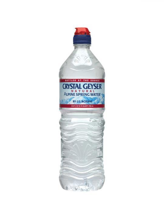 Crystal Geyser - 700ml (23.6oz) Sport Cap Case - 24 Pack