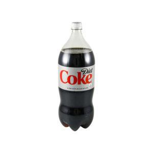 Diet Coke - 2 Liter Bottle (8 Pack) Case