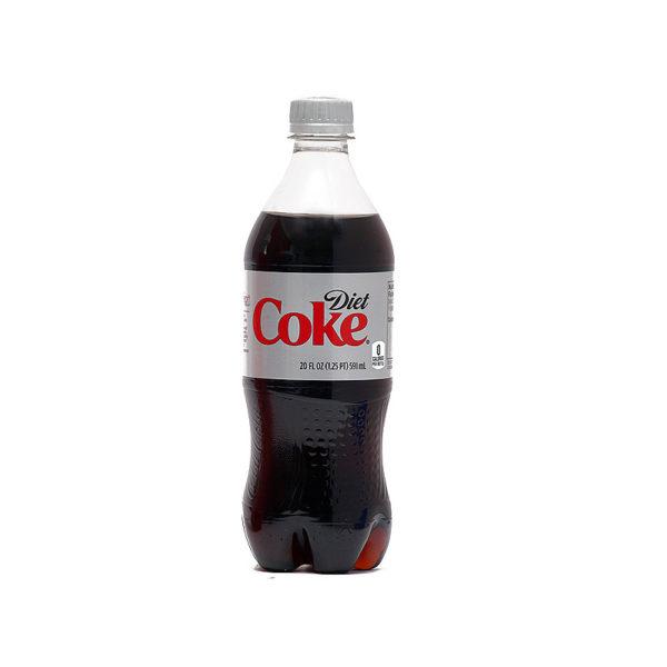 Diet Coke - 20 oz Bottle 24pk Case