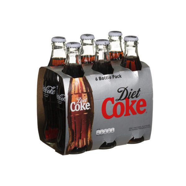 Coke - 8 oz Glass Bottle 24pk Case