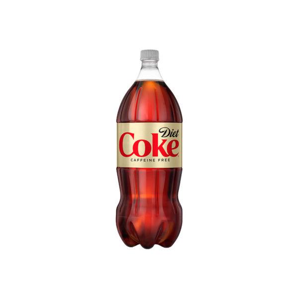 Diet Coke - Caffeine Free 2 Liter Bottle (8 Pack) Case