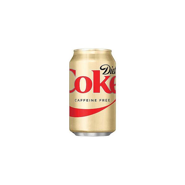 Diet Coke - Caffeine Free 12oz Can Case