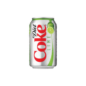 Diet Coke - Diet Coke W/ Lime Cans