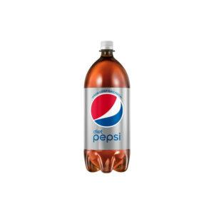 Diet Pepsi - 2 Liter Bottle (6 Pack) Case