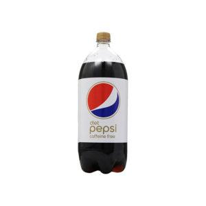 Diet Pepsi - Caffeine Free 2 Liter Bottle (6 Pack) Case