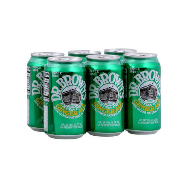Dr. Brown's - Ginger Ale 12 oz Can 24pk Case