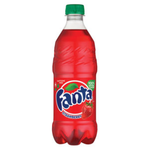 Fanta - Strawberry 20oz Bottle Case
