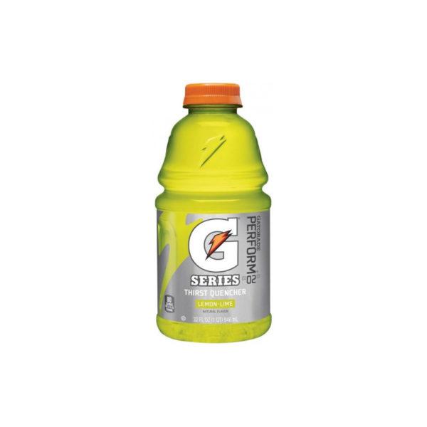 Gatorade - 32oz Lemon-Lime Bottle Case