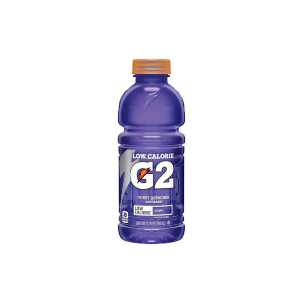 "Gatorade - ""G2"" 20oz Grape Bottle Case"