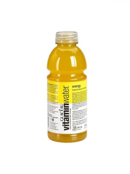 Glaceau - Vitamin Water Tropical Citrus (Energy) 20oz Bottle Case - 12 Pack