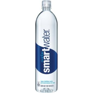 Glaceau - Smartwater Still 1 Liter (33.8oz) Plastic Bottle Case - 12 Pack