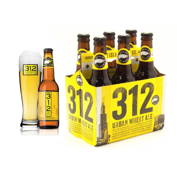 Goose Island - 312 Urban Wheat 12oz Bottle 24pk Case