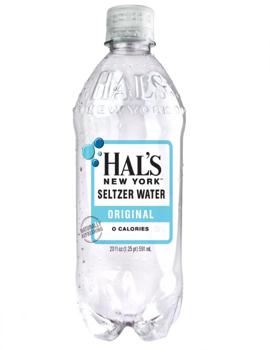 Hal's - New York Seltzer Original 20oz Bottle Case - 24 Pack