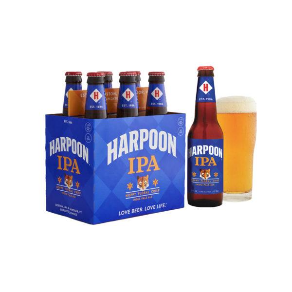 Harpoon - India Pale Ale (I.P.A.) 12oz Bottle 24pk Case