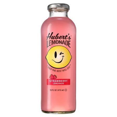 Hubert's - Strawberry lemonade 16oz Bottle case